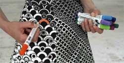 Бизнес-идея: Платье-раскраска