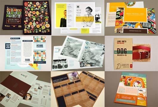 бизнес идея: готовые шаблоны рекламных материалов