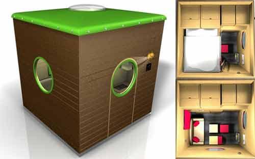 Перспективная идея бизнеса в недвижимости: домики для отдыхающих
