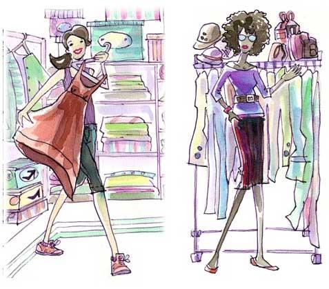 Перспективная идея бизнеса: Виртуальный стилист и гардеробный органайзер