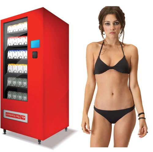 Прибыльная идея бизнеса: Вендинговый автомат по продаже купальников