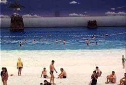отдающая идея: Пляж под закрытым небом