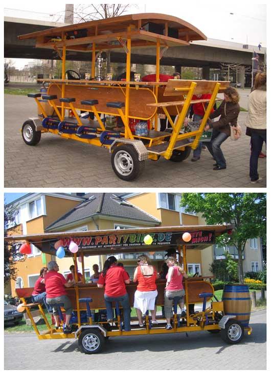 пивная идея: Бар на колесах