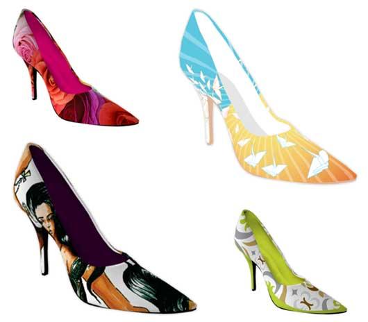 модная идея: Туфли собственного дизайна