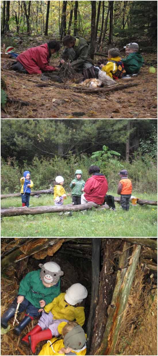 образовательная идея: Детский сад в лесу