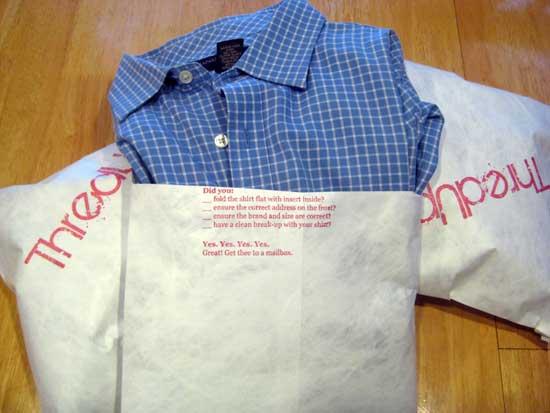модная идея: Рубашки по обмену