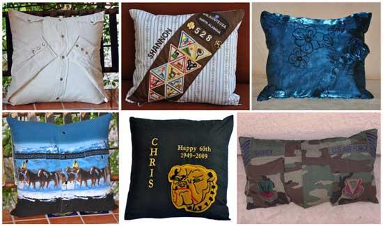 скорбная идея: Памятные подушки скорби