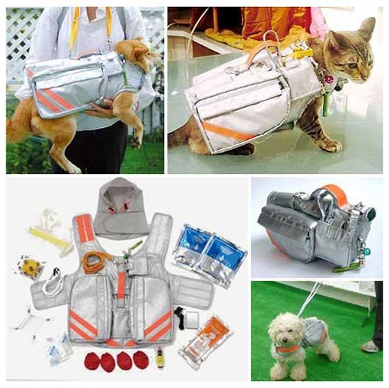 спасательная идея: Спасательный жилет для домашних животных