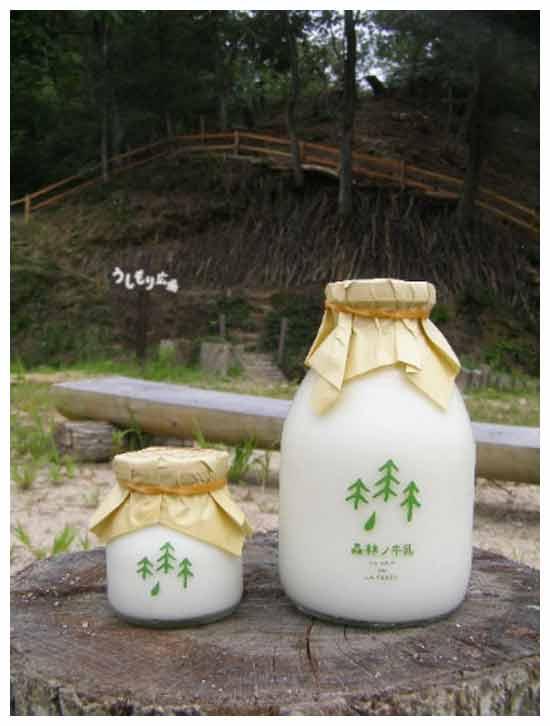 нобычная молочная идея бизнеса: Лесное молоко от коров из лесной фермы