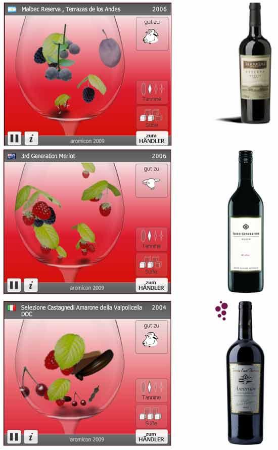 необычная винная идея бизнеса: Поисковик вин, визуализирующий результаты