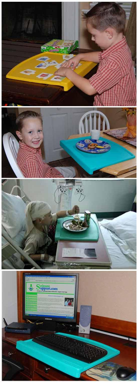 оригинальная идея бизнеса: Защитный щит для детей больных эпилепсией