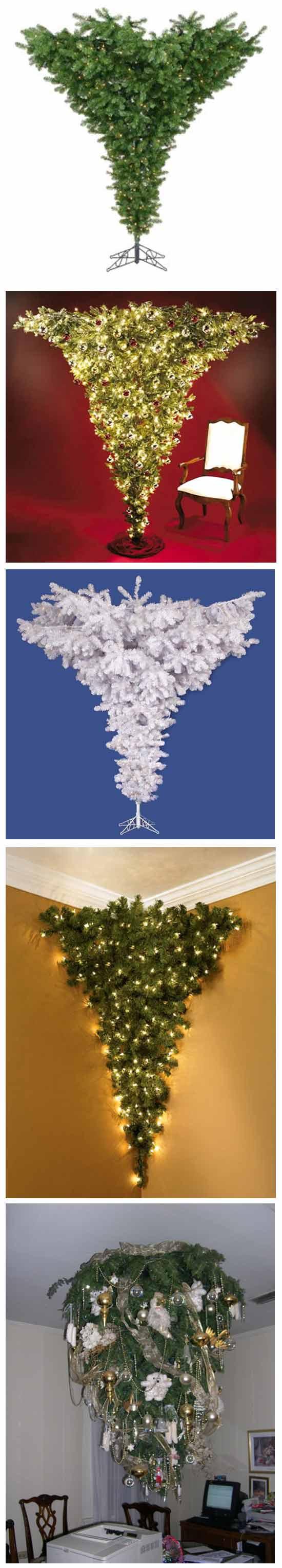 Идея новогоднего бизнеса: Перевернутая новогодняя елка
