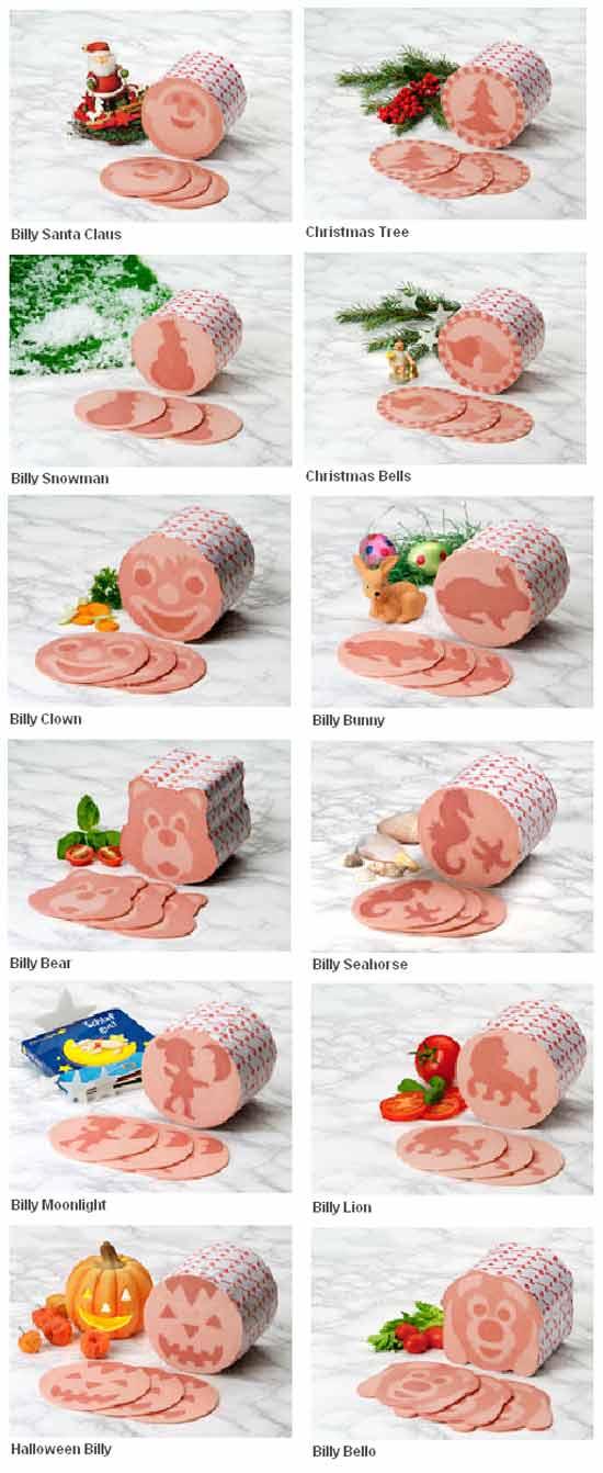 Вкусная идея бизнеса: колбаса с рисунком