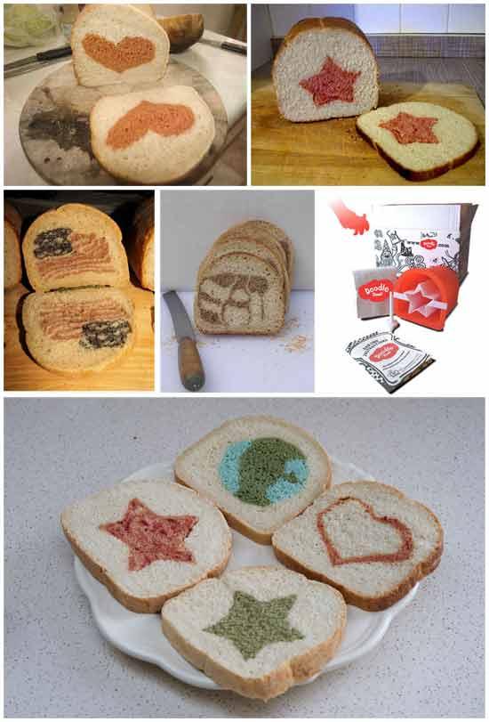 Оригинальная идея: Набор для выпечки домашнего хлеба с картинками
