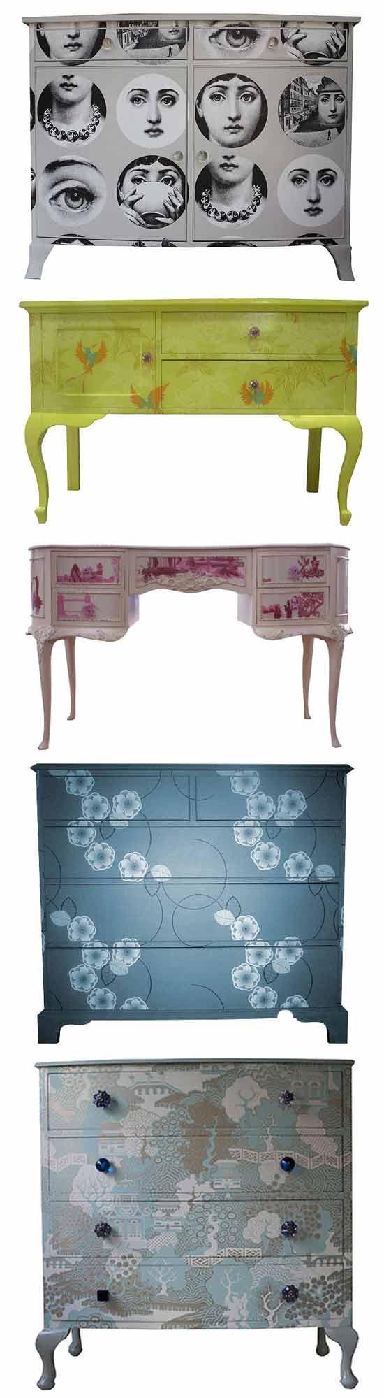 Бизнес идеи в сфере дизайна: Оригинальный способ реставрации мебели