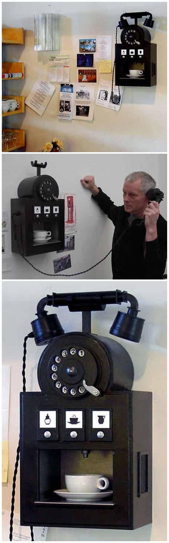 Идеи технических новинок: Телефон - кофемашина