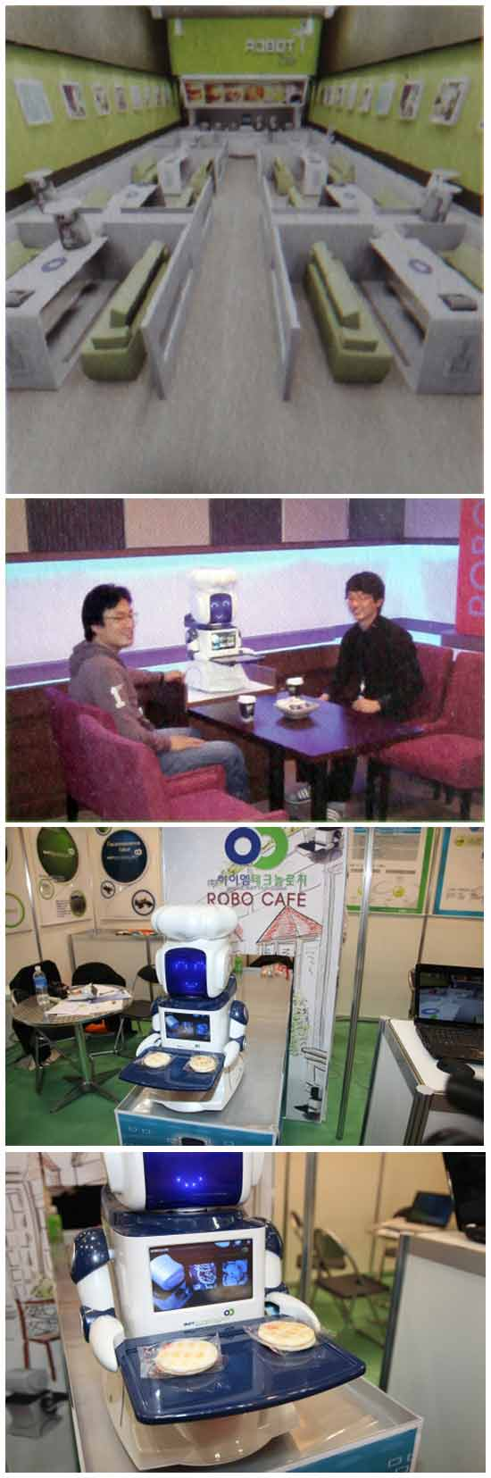 Необычная концепция ресторана: Ресторан, обслуживающийся роботами (Robo Cafe)