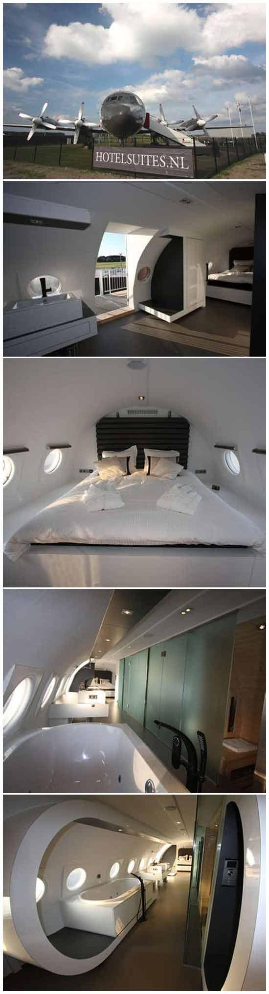 Необычная идея в гостиничном бизнесе: Отель в военном самолете