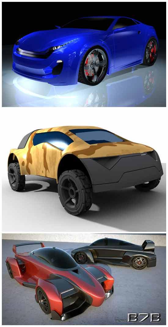 Идеи автобизнеса: Автомобили с дизайном покупателей