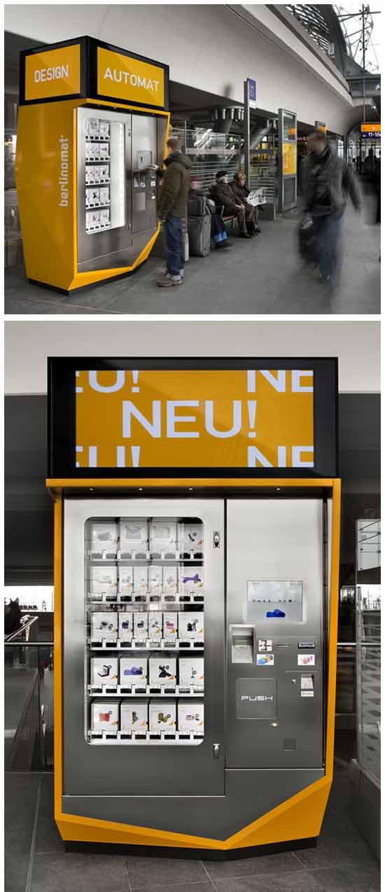 Оригинальная идея вендинговых автоматов: Автомат по продаже аксессуаров
