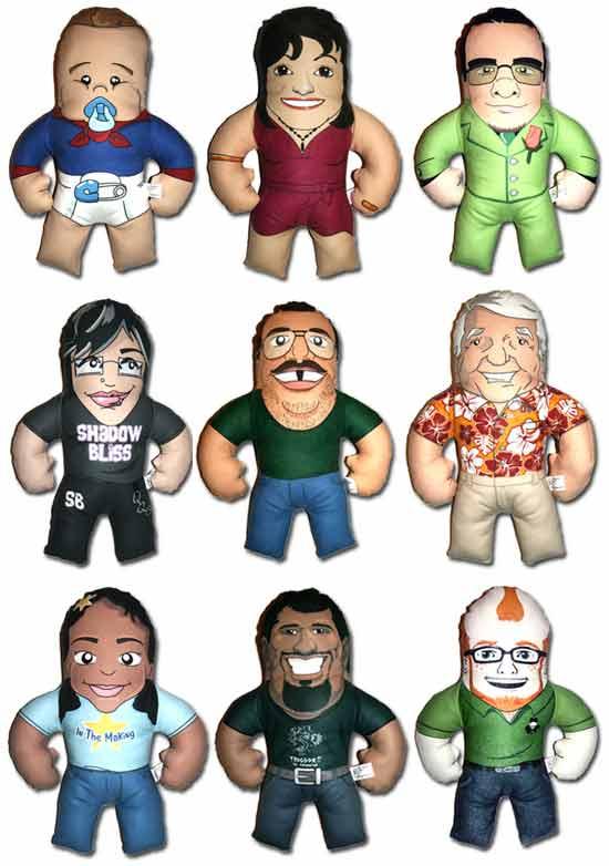 Необычная идея подарка: Куклы-копии своих хозяев