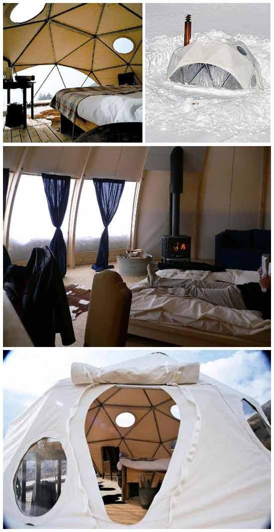 Необычный отель в Альпах: Отель-иглу