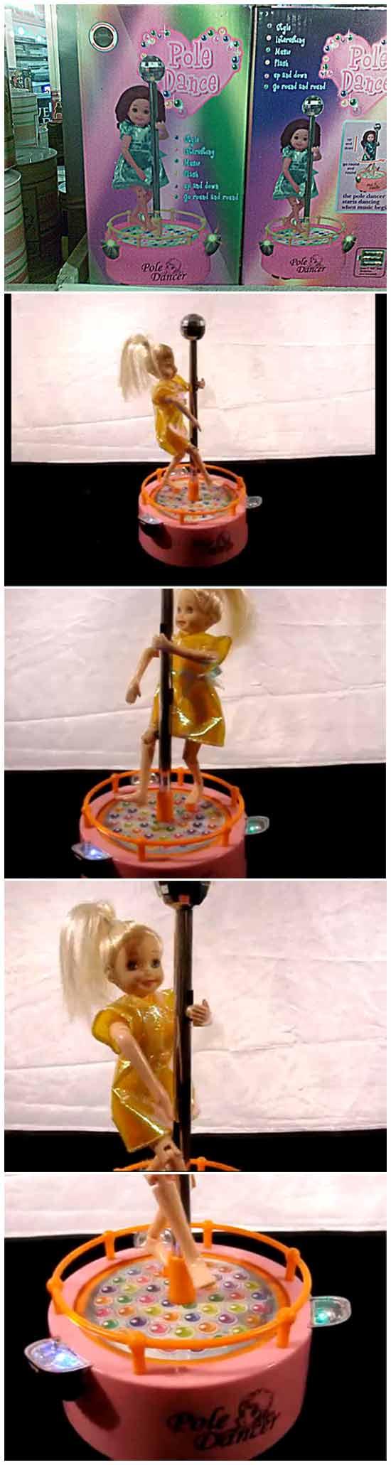 Детская кукла-стриптизерша