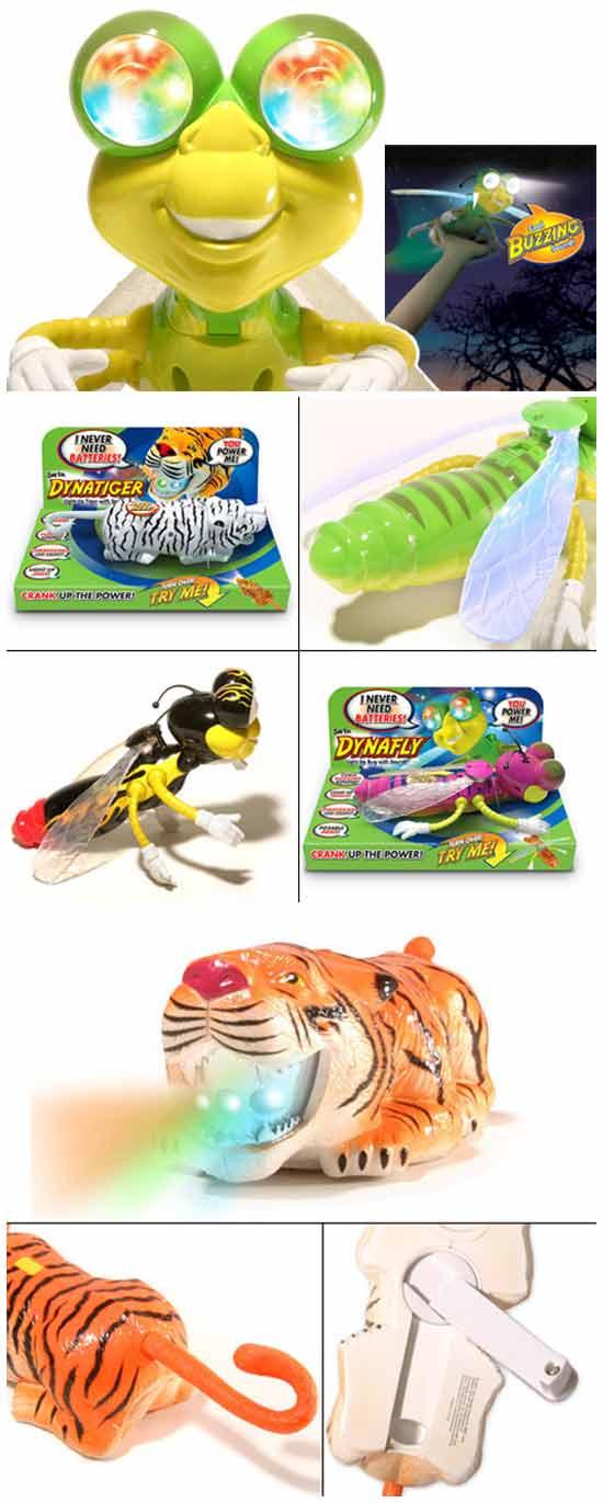 Заводные игрушки без батареек
