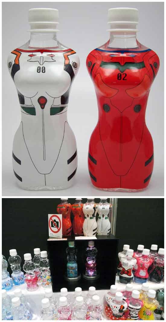 Бутылки для фанатов аниме
