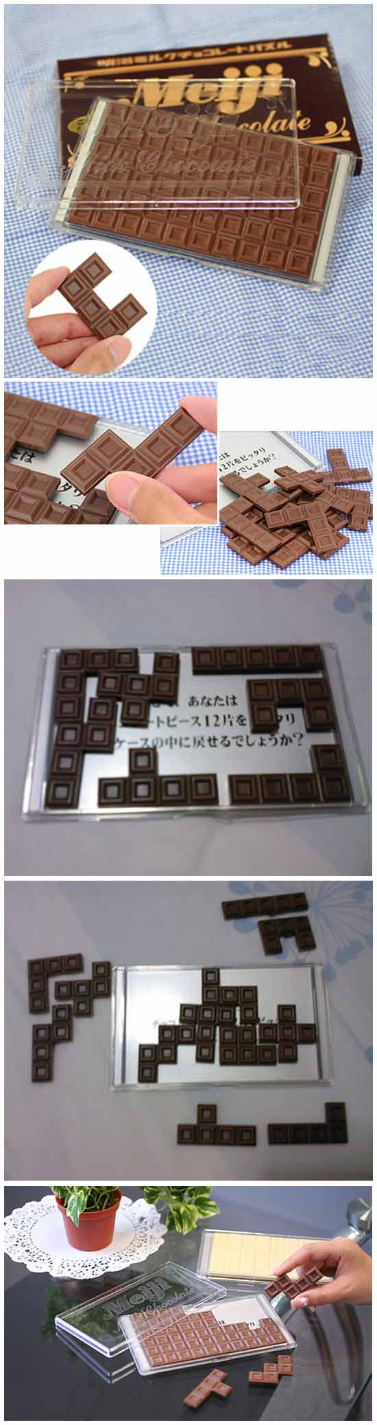 Шоколадные пазлы