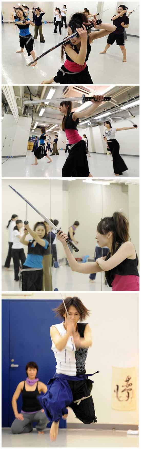Танцы с мечом или аэробика по-японски