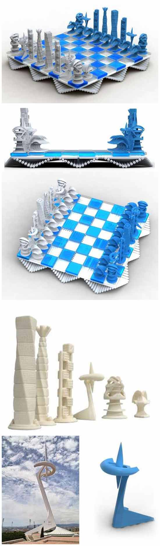 Архитектурные шахматы