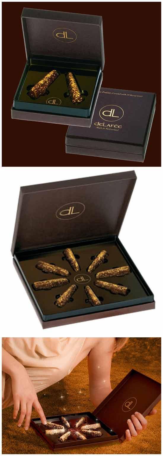 Золотой шоколад