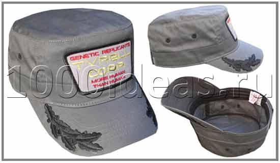 Фирменные кепки вымышленных брендов