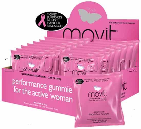 Энергетические жевательные конфеты для женщин