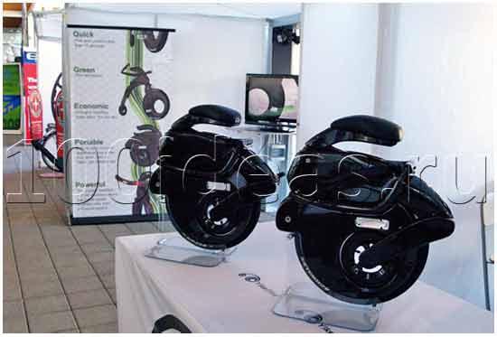 техническая идея: Электрический складной велосипед
