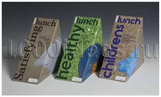 Оригинальная идея дизайна: Креативные упаковки для фастфуда