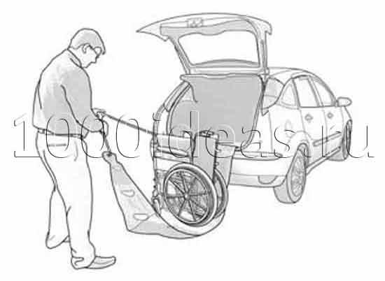 Подъемник для инвалидного кресла