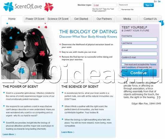 Идея бизнеса: необычный сайт знакомств, подбирающий пары по запаху