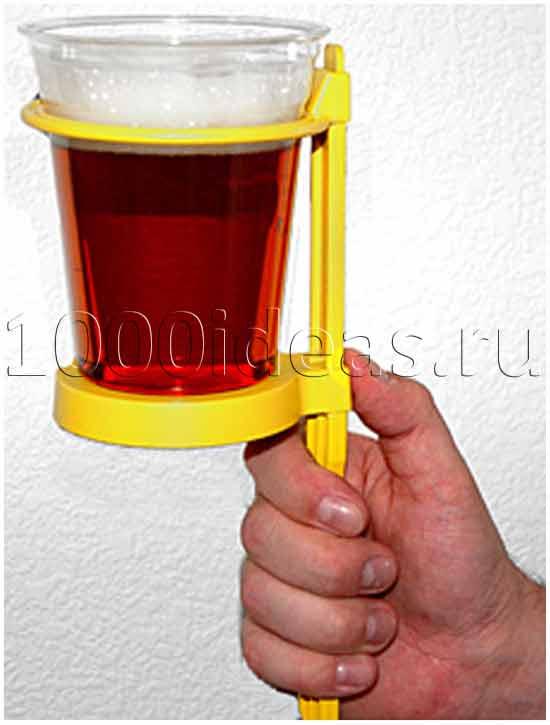 Пиво на палочке