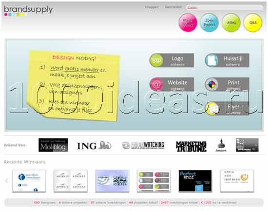 дизайнерская идея бизнеса по-голландски: Ресурс для дизайнеров по-голландски