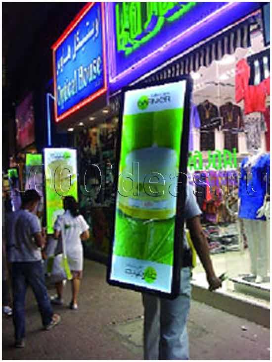 Рекламные бизнес идеи: Агентство Сэндвич-мэнов