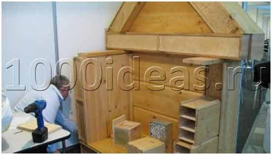 Идея бизнеса: Новая технология строительства - дом за одну неделю