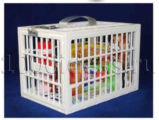 идея бизнеса против офисного воровства: Запирающийся контейнер для защиты продуктов от офисных воров
