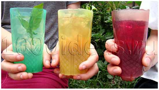 Съедобный стакан для напитков