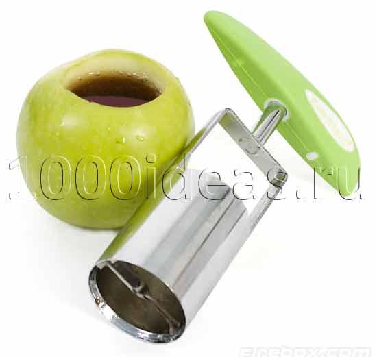 Открывашка, превращающая фрукты в стаканы