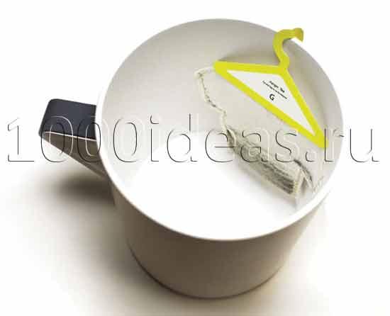 Оригинальная идея для чаепития: Креативные чайные пакетики