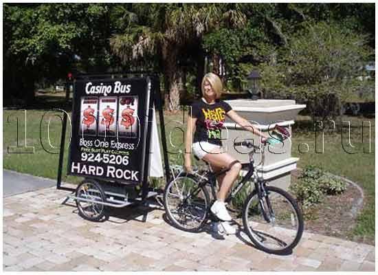 Необычная идея бизнеса: рекламные велорикши