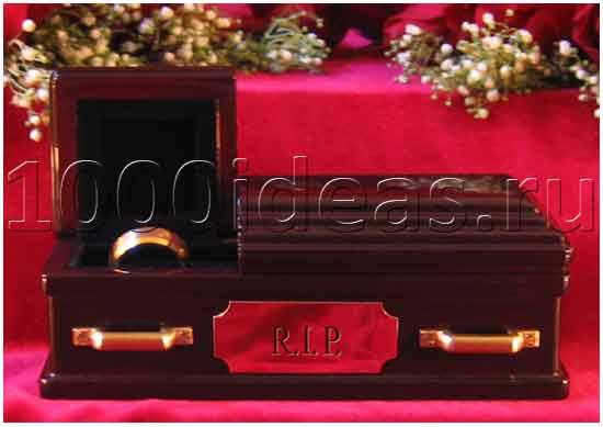 Гробы для обручальных колец