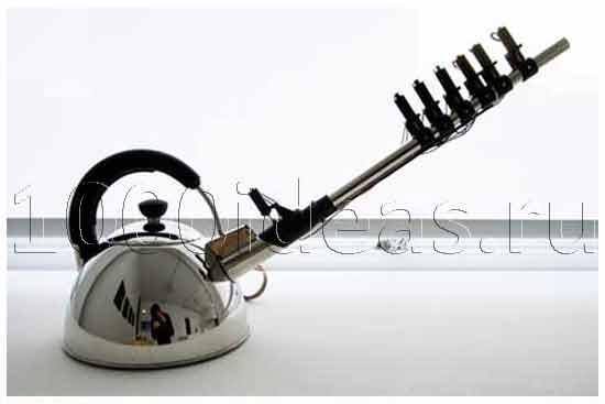 Идеи оригинальных подарков: музыкальный чайник
